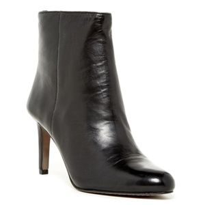 SALE Vince Camuto Cloey Black Leather Ankle Boots
